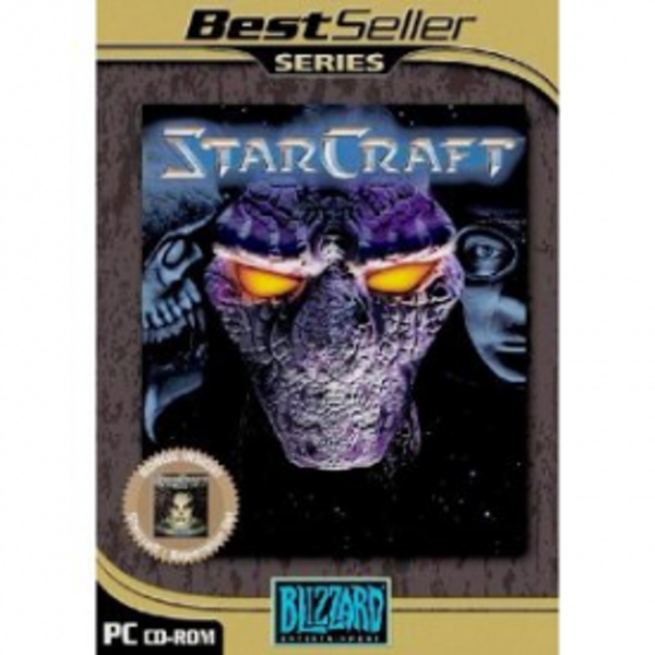 Starcraft & Brood War Expansion Pack Game (Classics) PC