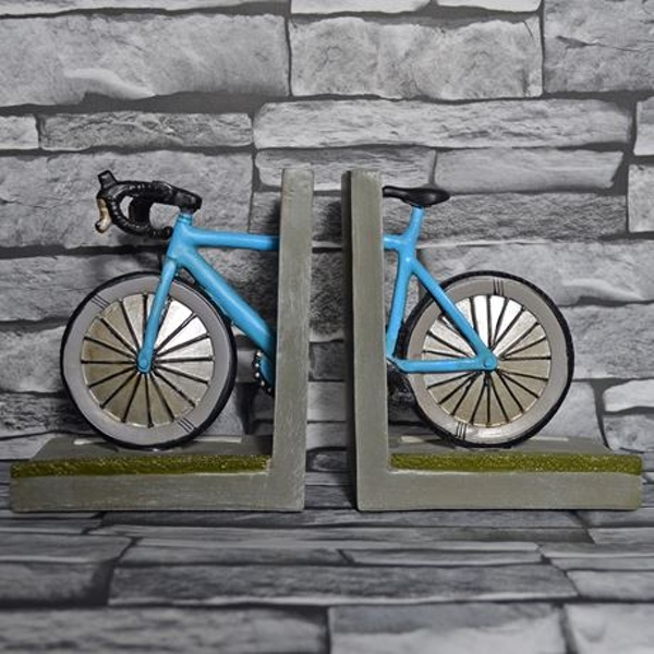 Bike Shelf Tidy Pair Bookends
