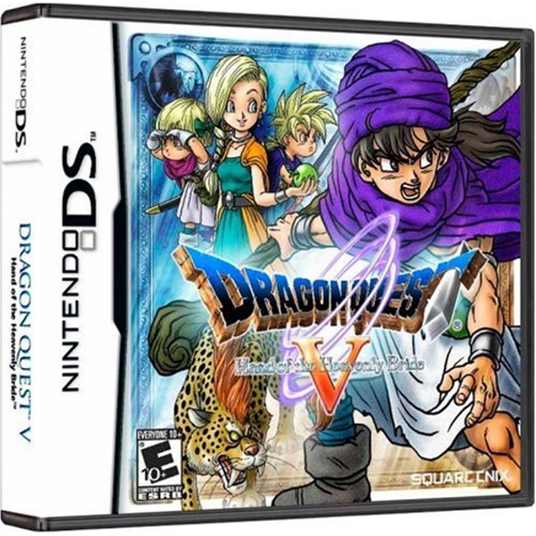 Dragon Quest V Hand Of The Heavenly Bride DS Game (#)