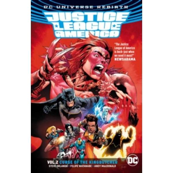 Justice League Of America Vol. 2 Curse Of The Kingbutcher (Rebirth)