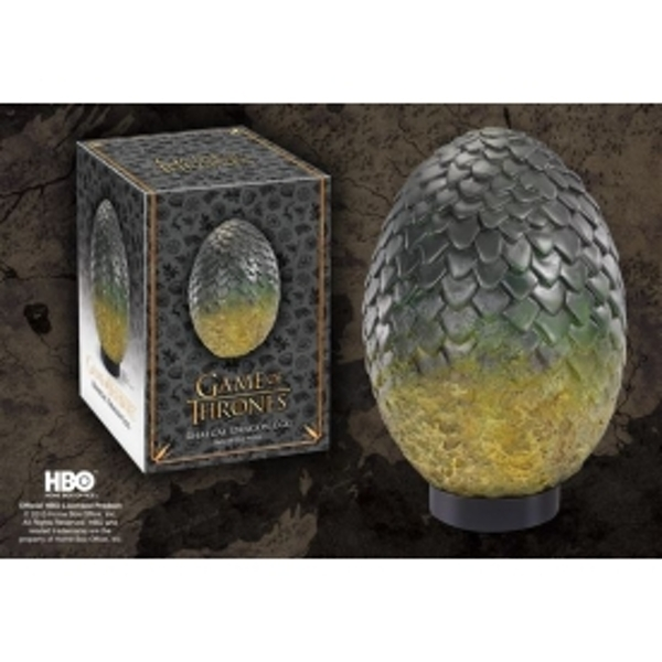 Rhaegal (Game Of Thrones) Green Egg Replica by Noble Collection