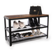 3 Tier Shoe Rack Bench | M&W - Image 3
