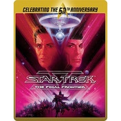 Star Trek 5 - The Final Frontier (Limited Edition 50th Anniversary Steelbook) Blu-ray