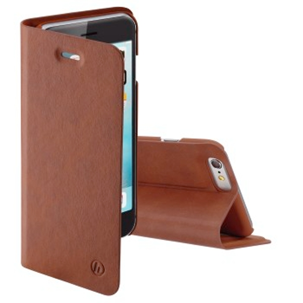 Hama Guard Pro Wallet Case for Apple iPhone 6/6S Brown