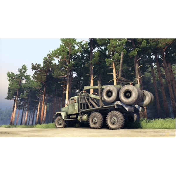 Spintires Off Road Truck Simulation PC Game - Image 2