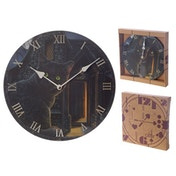 Fantasy What Lies Within Cat Wall Clock