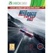 Need for Speed Rivals Limited Edition (Ultimate Cop Pack DLC) Game Xbox 360