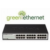 D-Link DGS-1024D 24-Port Green Ethernet Copper Gigabit Switch UK Plug