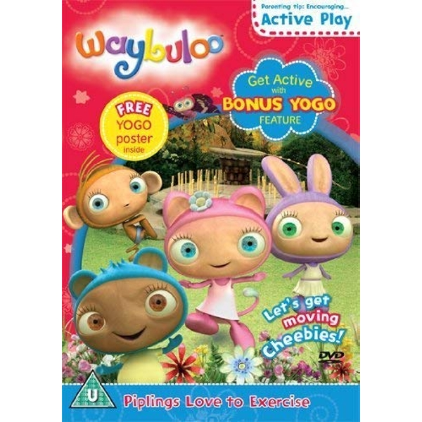 Waybuloo - Piplings Love To Excercise DVD