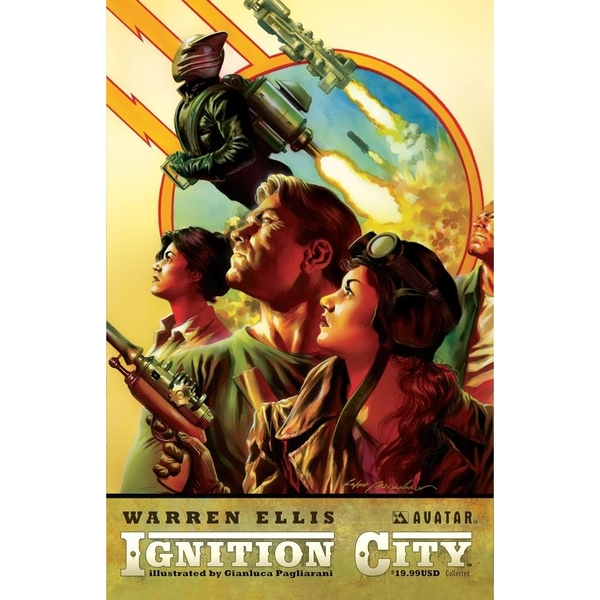 Ignition City Volume 1 Hardcover