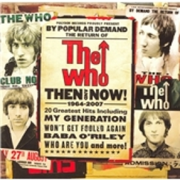 The Who Then And Now CD