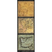Lord Of The Rings Maps of Middle-Earth Poster