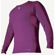 PT Base-Layer Long Sleeve Crew-Neck Shirt Small Boys Purple