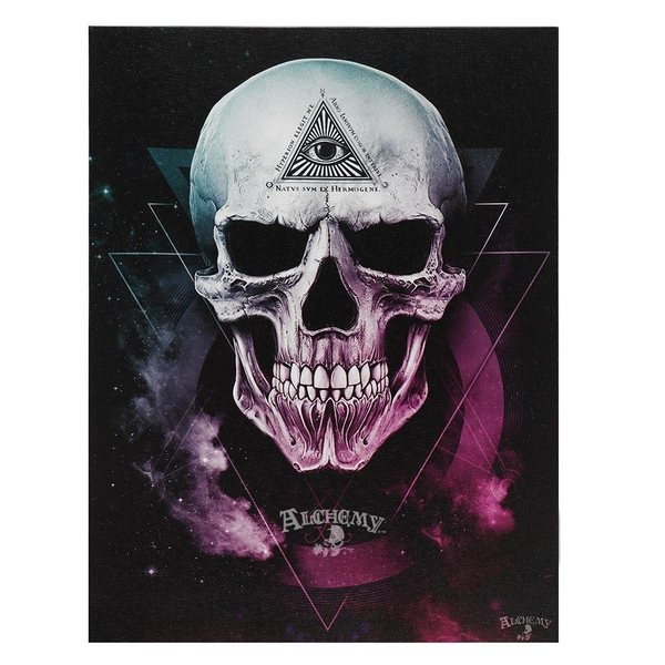Alchemy The Void Canvas Plaque