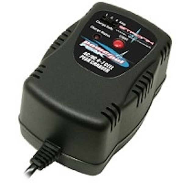 Etronix Powerpal Peak Charger Ac/Dc 1/2/4 Amp (European Plug)
