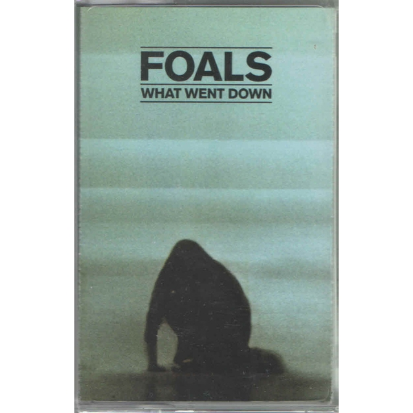 Foals ‎- What Went Down Cassette