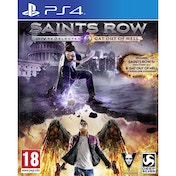 Saints Row IV Re-elected And Gat Out of Hell PS4 Game