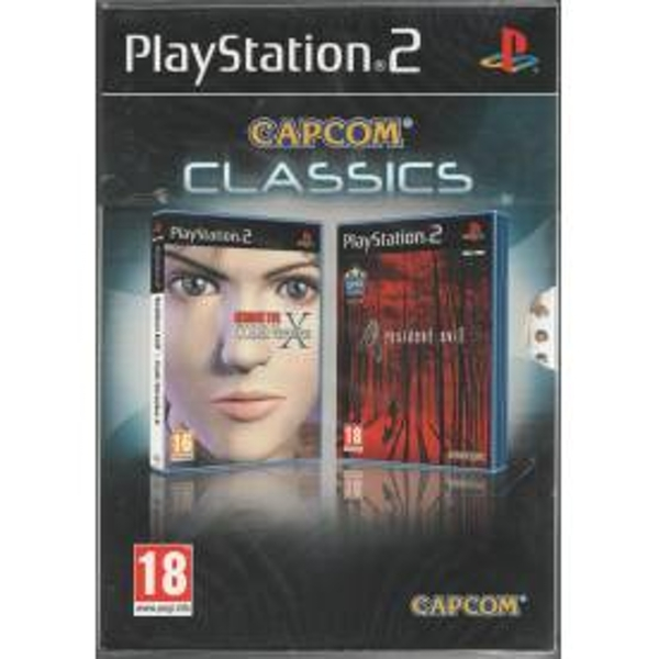 Resident Evil 4 & Code Veronica X Double Pack Game PS2
