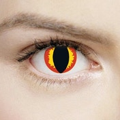 Hades 1 Day Halloween Coloured Contact Lenses (MesmerEyez XtremeEyez)