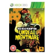 Ex-Display Red Dead Redemption Undead Nightmare Game Xbox 360 Used - Like New