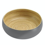 Bamboo Serving Bowl | M&W Large Grey