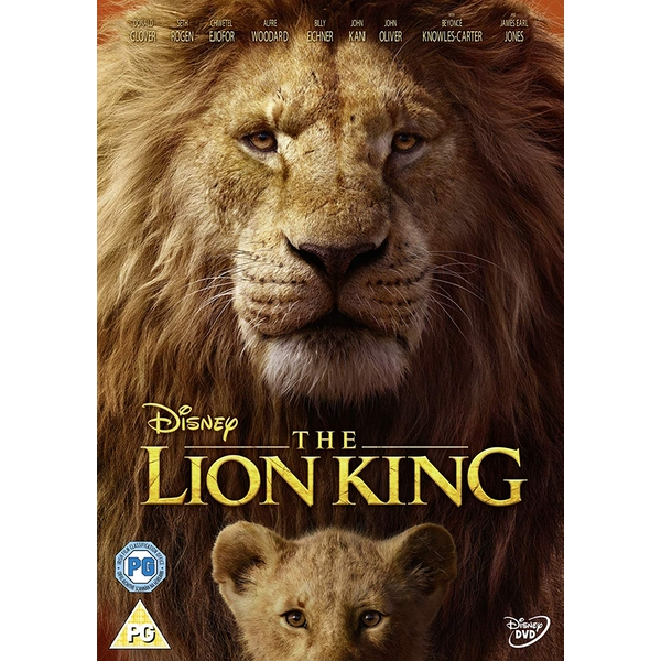 The Lion King (Live Action) DVD