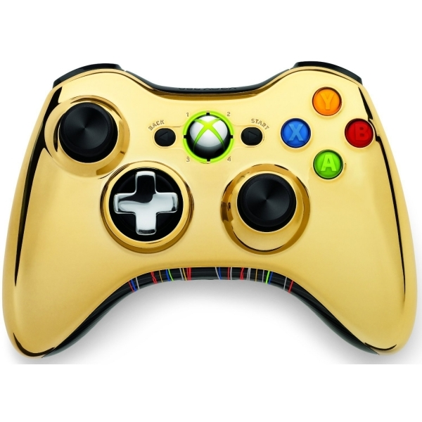 C3-PO Themed Xbox 360 Wireless Controller Gold (Bagged) Xbox 360