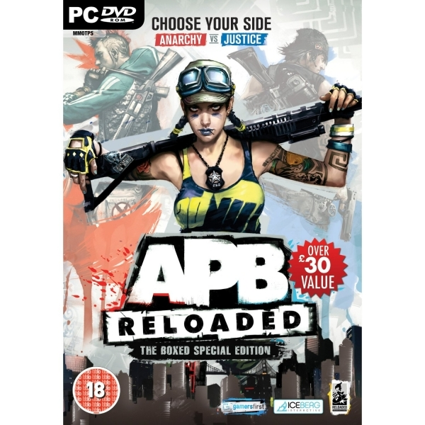 APB Reloaded Special Edition Game PC