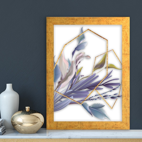 AC14815624823 Multicolor Decorative Framed MDF Painting