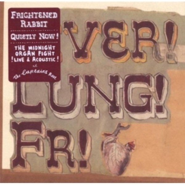 Frightened Rabbit - Liver! Lung! Fr! CD