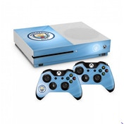 Official Manchester City FC Xbox One S Console Skin and 2x Controller Skin Combo Pack