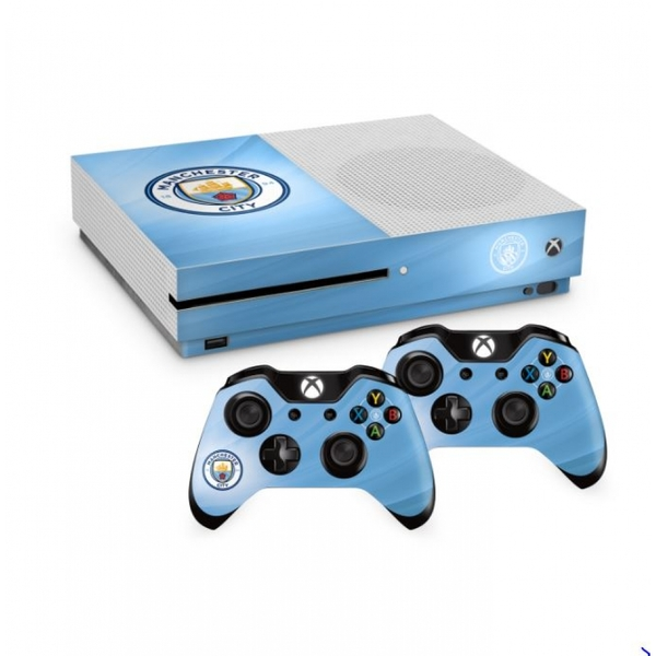 Official Manchester City FC Xbox One S Console Skin and 2x ... Official Xbox One Console