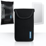 YouSave Accessories Neoprene Pouch (L) - Black