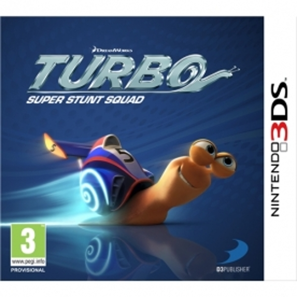 Turbo Super Stunt Squad Game 3DS