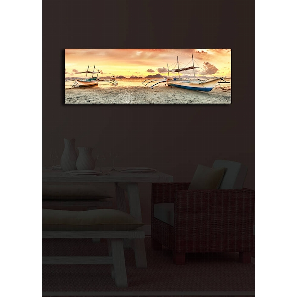 3090?ACT-20 Multicolor Decorative Led Lighted Canvas Painting