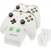 Ex-Display Venom Twin Dock Charging Station White Edition Xbox One Used - Like New