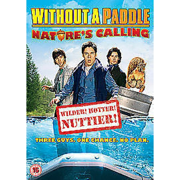 Without A Paddle - Nature's Calling DVD
