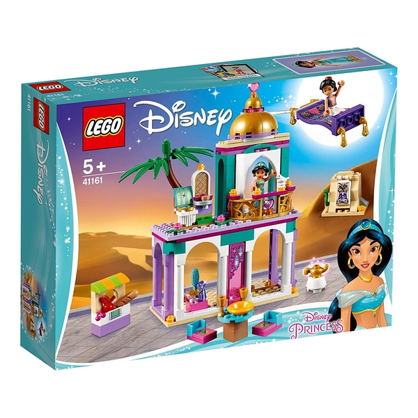 LEGO Disney Princess - Aladdin and Jasmine Palace Adventures Set (41161) [Damaged]