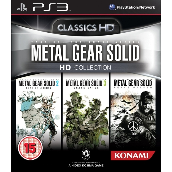 Metal Gear Solid HD Collection Game PS3 - Image 1