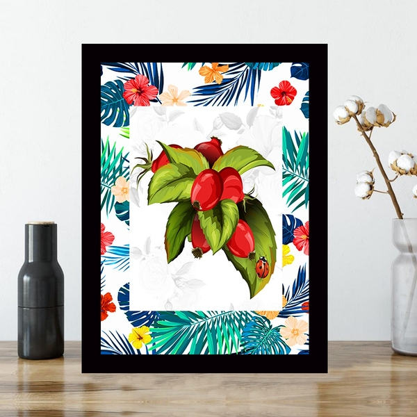 SCZ56698251723 Multicolor Decorative Framed MDF Painting