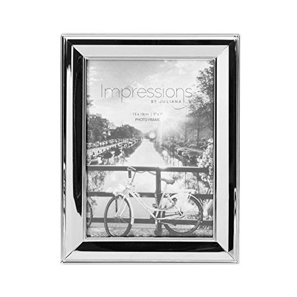 "5"" x 7"" - Impressions Nickel Plated Photo Frame"