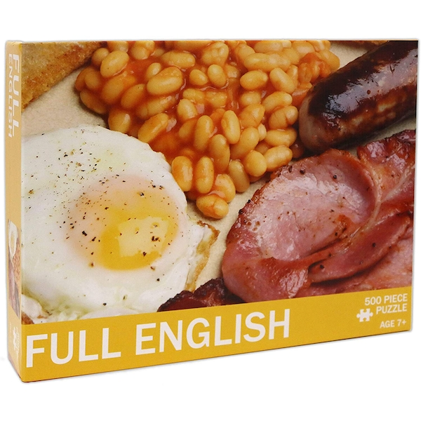 Full English Jigsaw Puzzle - 500 Pieces