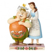 Devoted Daughter Belle & Maurice Disney Traditions Figurine