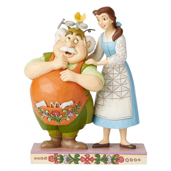 Devoted Daughter Belle & Maurice (Beauty and the Beast) Disney Traditions Figurine