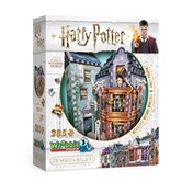 Harry Potter Hogwarts Diagon Alley Collection Weasley Wizards Wheezes & Daily Prophet Wrebbit 3D Jigsaw Puzzle