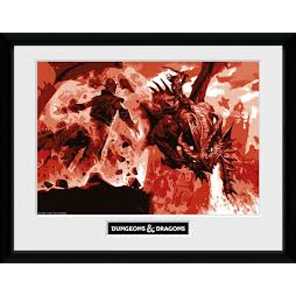 Dungeons & Dragons - Red Dragon Collector Print