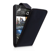 YouSave Accessories HTC One Leather-Effect Flip Case - Black