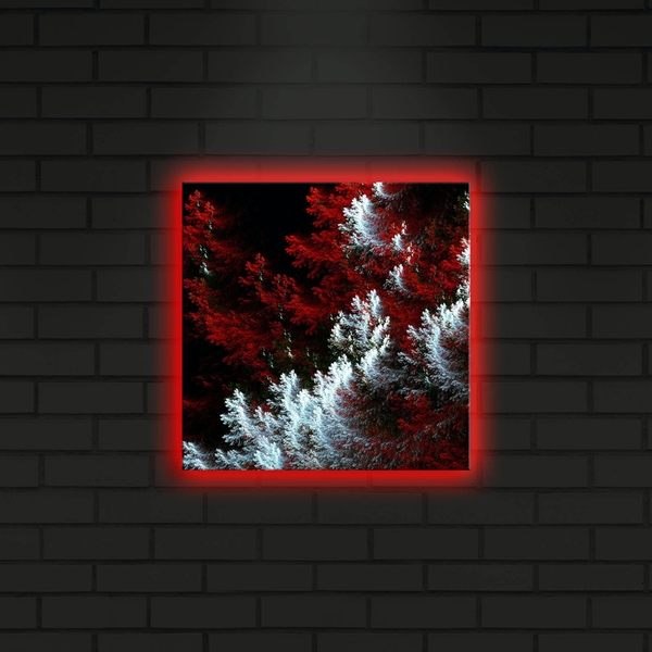 2828DACT-9 Multicolor Decorative Led Lighted Canvas Painting