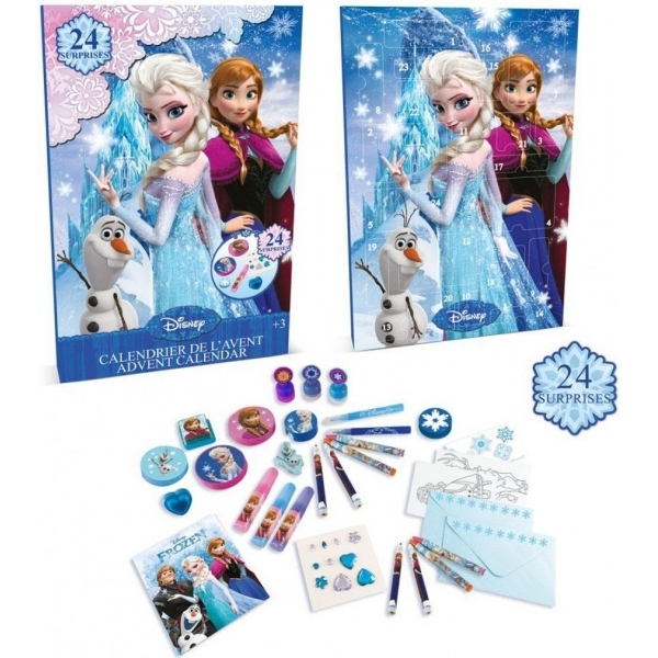 disney frozen advent calendar with 24 surprise gifts. Black Bedroom Furniture Sets. Home Design Ideas