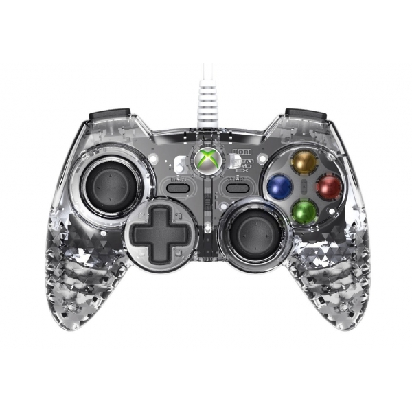 Hori Gem Xbox 360 Controller Diamond Clear